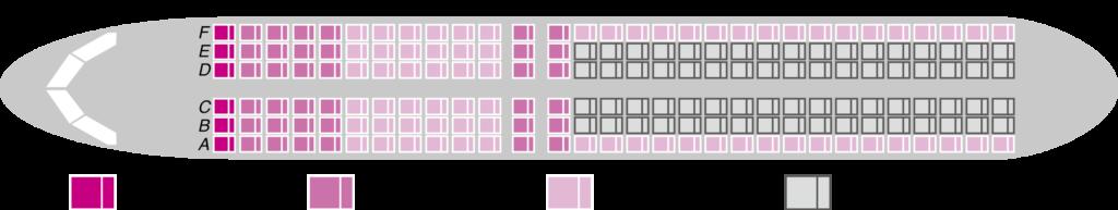 peach座席表